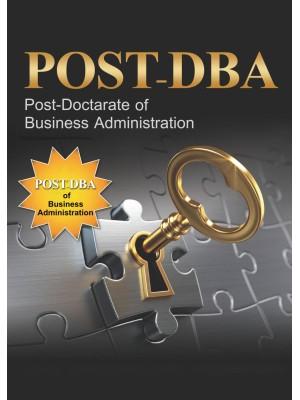 مدیریت عالی کسب و کار POST DBA